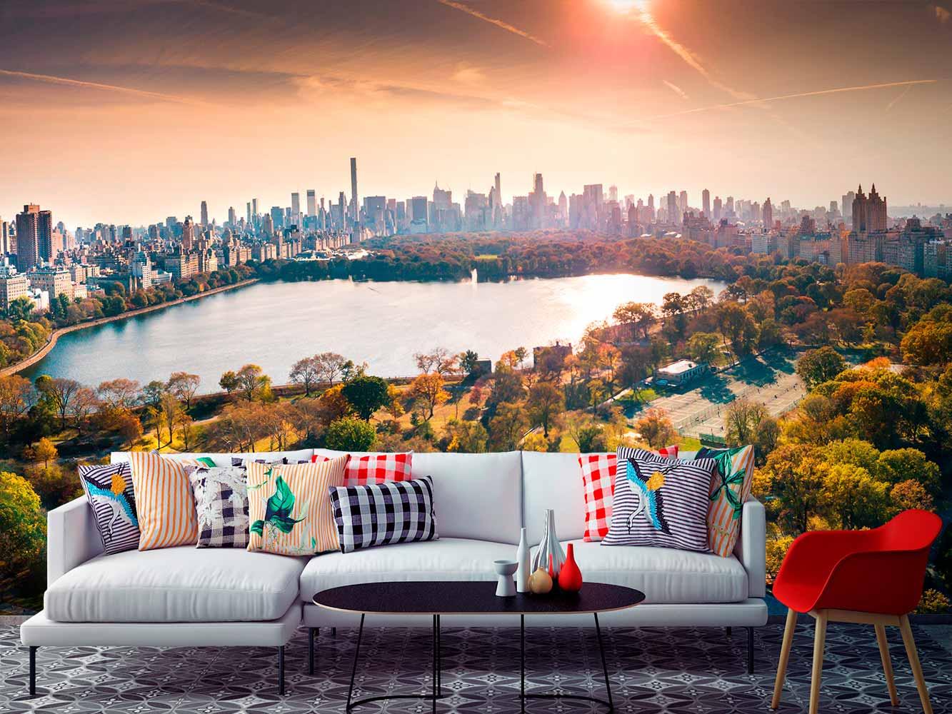 Fotomural Central Park Amanecer | Carteles XXL - Impresión carteleria publicitaria