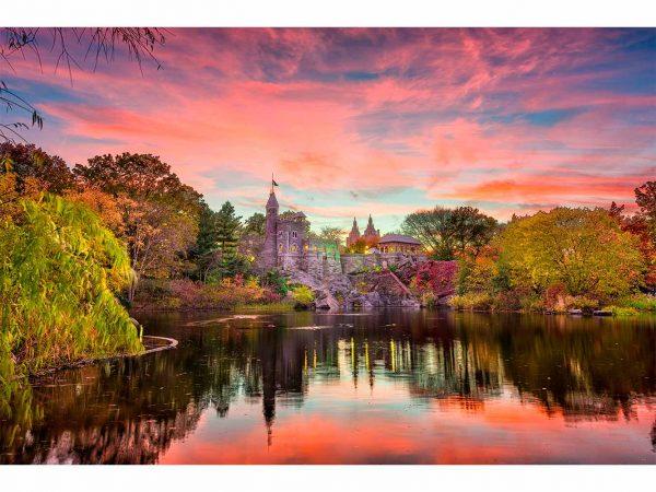 Fotomural Central Park Atardecer   Carteles XXL - Impresión carteleria publicitaria