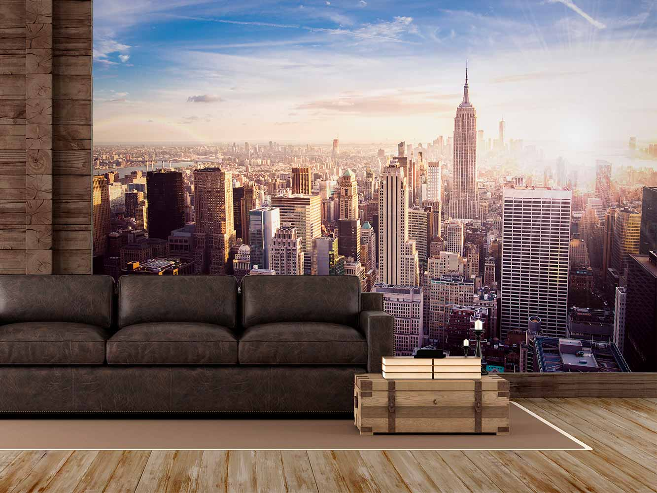 Fotomural Manhattan Amanecer