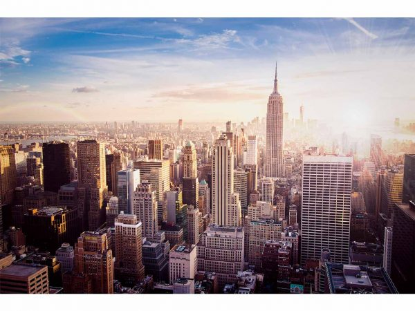Fotomural Manhattan Amanecer | Carteles XXL - Impresión carteleria publicitaria