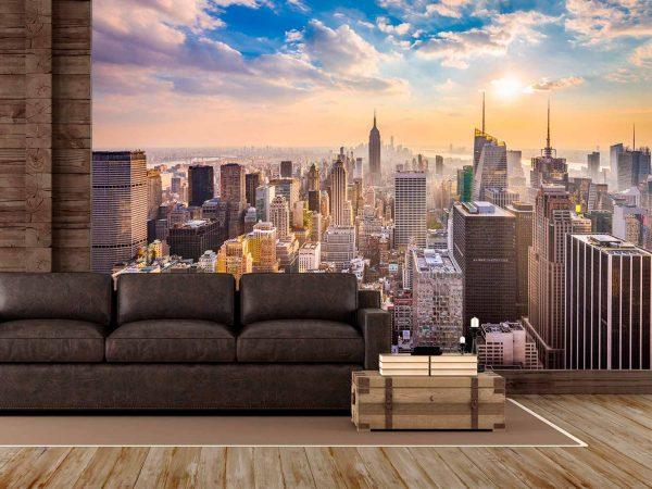 Fotomural Manhattan de Día | Carteles XXL - Impresión carteleria publicitaria