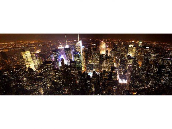 Fotomural Manhattan de Noche | Carteles XXL - Impresión carteleria publicitaria