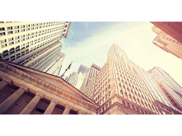 Fotomural Wall Street Amanecer | Carteles XXL - Impresión carteleria publicitaria