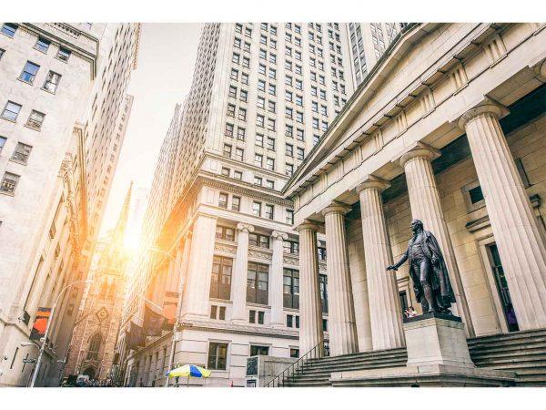 Fotomural Wall Street Atardecer | Carteles XXL - Impresión carteleria publicitaria